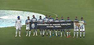 """Menino Rhaniel é homenageado no Rei Pelé: """"Ele sonhava ser jogador do CSA"""", diz a mãe"""