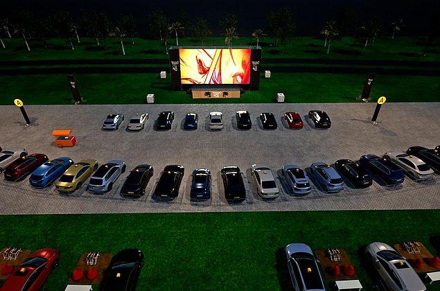 Cinema drive-in é atração em Fortaleza a partir de julho com capacidade para até 160 carros