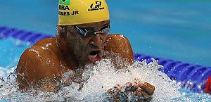 João Gomes é ouro na Champions Series de natação