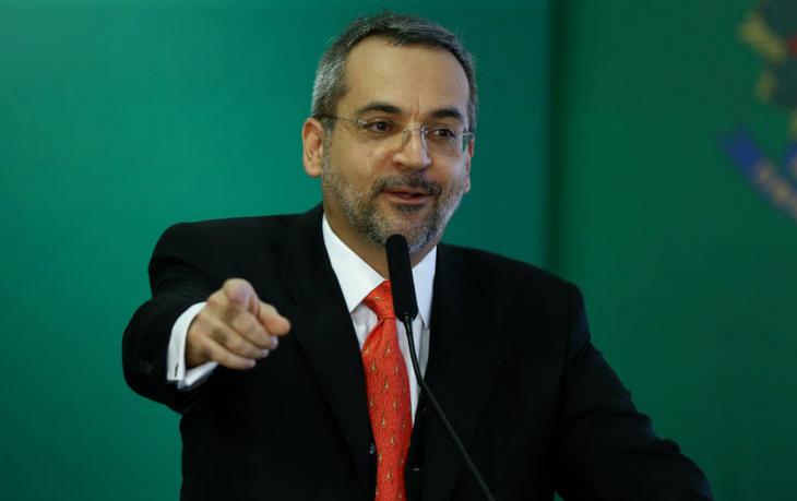 Ministro da Educação Abraham Weintraub