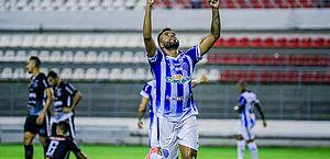 Cassiano marcou o primeiro gol na vitória sobre o ASA