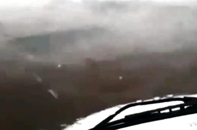 Vídeos: moradores do Sertão são surpreendidos por chuva de granizo