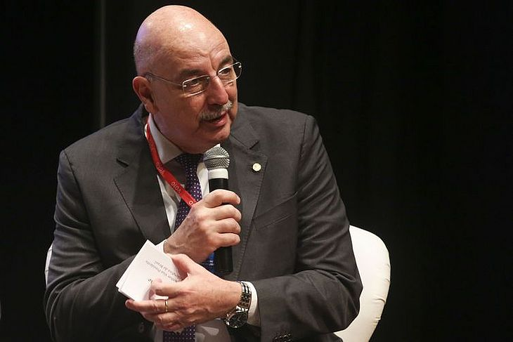 O ministro da Cidadania, Osmar Terra, defende mais abrangência na Lei Rouanet
