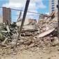 Sobe para três o número de mortos em desabamento de prédio em Fortaleza