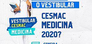 Respeitando recomendações, Cesmac realiza neste fim de semana o Vestibular Medicina