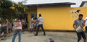 Duas casas pegam fogo e assustam moradores de condomínio em Satuba