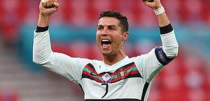 Portugal vence a Hungria pela Eurocopa em estádio lotado