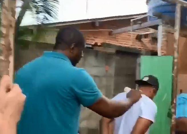 Acusado de vários crimes em SE foi preso tentando fugir por telhado