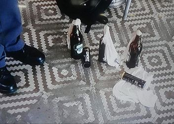 Explosivos usados pelos atiradores