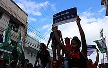 Ato reuniu mulheres no centro de Maceió