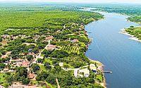 Imóvel na Lagoa do Uruaú, em Beberibe, teria sido utilizado pelos líderes do PCC para 'lavar' dinheiro