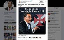 Luxemburgo anunciou acerto pelo Twitter