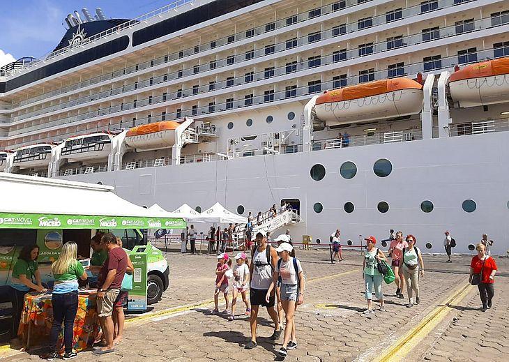 Msc Musica é o primeiro navio da temporada 2019/2020