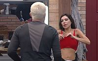 Em A Fazenda, MC Gui se irrita e faz barraco com Liziane: 'Sua arrogante'