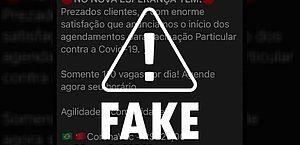 É falso que hospital privado de Maceió venda doses de vacinas contra a Covid-19