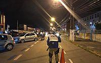 Lei Seca foi realizada na Avenida Dona Constança