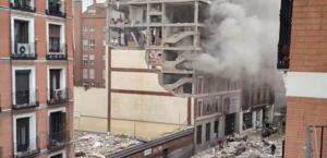 Explosão em Toledo, no centro de Madri