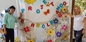 Escritora Benilda Guimarães organiza ação do Projeto Borboletando para o Dia dos Professores