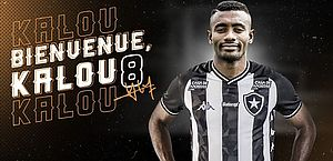 Kalou curte férias em Ibiza e chega ao Botafogo na semana que vem