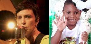 Adriana Calcanhotto doa direitos de música para família do menino Miguel