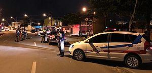 Três são presos por embriaguez ao volante em Operação Lei Seca