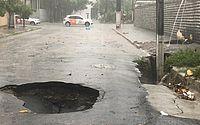 Semarh emite alerta para Defesa Civil após chuvas na madrugada em Maceió