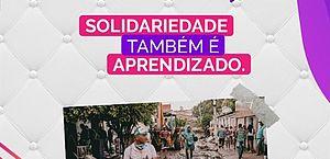 Solidariedade: renda de seminário vai ajudar vítimas de enchente em Santana; veja como participar