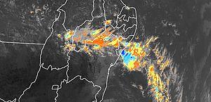 Alagoas pode ter chuvas intensas e rajadas de vento nos próximos dias