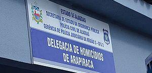 Arapiraca: polícia prende suspeita de matar homem que teria negado dinheiro e cerveja