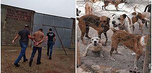 Suspeito de estelionato dá golpe de R$ 400 mil e deixa inacabada obra de sede de entidade que acolhe animais