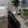 Carro bate e derruba parte do muro da sede do Sindicato dos Jornalistas