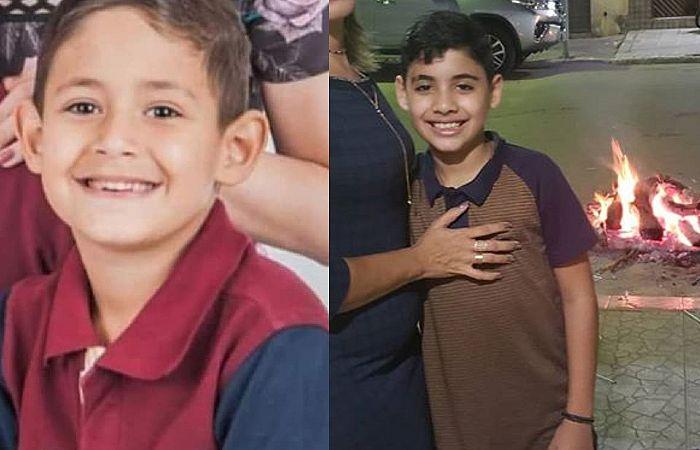 Gabriel e Natan foram atropelados na noite dessa quinta-feira (6), no centro de Toritama