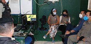 Promotoras de justiça visitam bases comunitárias do Benedito Bentes e Vergel do Lago