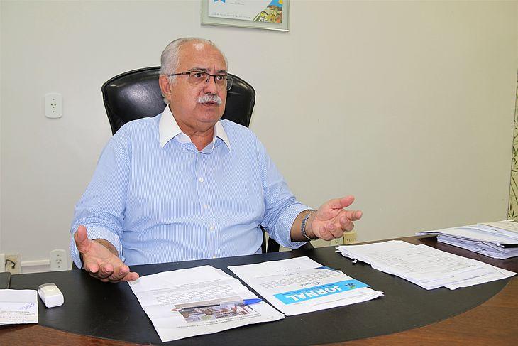 Prefeito de Arapiraca morreu na noite dessa sexta-feira (07) em um hospital de Maceió, onde tinha sido internado para tratar de uma infecção pulmonar
