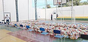 Prefeitura de Maceió inicia nova etapa de distribuição de cestas básicas
