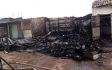 Barraca localizada em feira de Arapiraca foi destruída