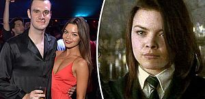 Atriz de Harry Potter se casa com filho do fundador da Playboy