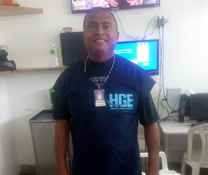 Osvaldo Alves trabalhava como maqueiro no HGE