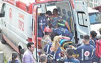 Colisão entre dois trens do Metrô do Recife deixa feridos