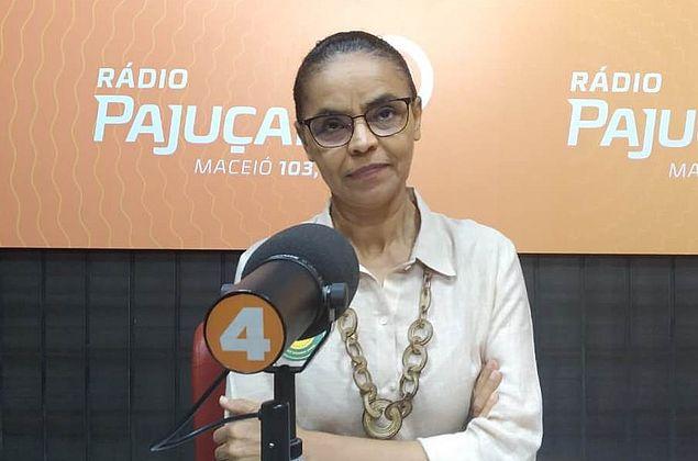 """Marina Silva: """"O voto no primeiro turno é para acabar com a esculhambação"""""""