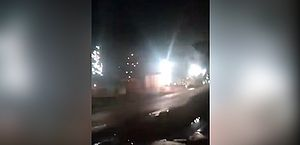 Vídeo: explosões e curto-circuito generalizado danificam rede elétrica em Macapá