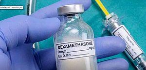 Hospitais brasileiros já receitam dexametasona para casos grave