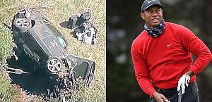 Tiger Woods sofre grave acidente de carro e passa por cirurgia