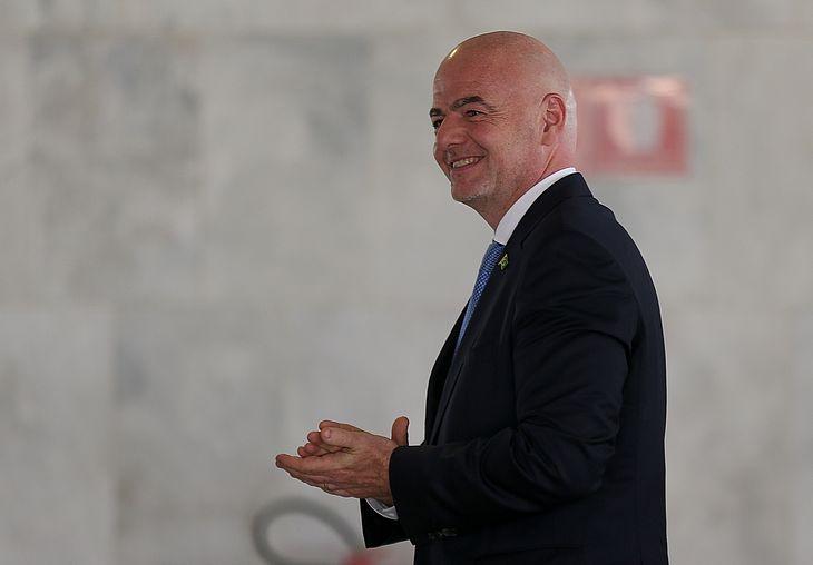 Presidente da FIFA Gianni Infantino