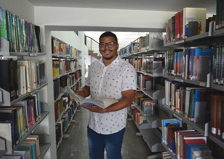 Estudante conquistou mestrado em SP