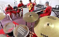 Musicoterapia incentiva a profissionalização e resgata autoestima de reeducandos
