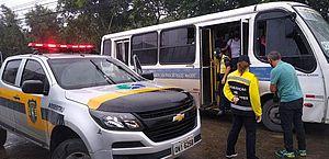 SMTT apreende 28 veículos em fiscalização de transporte intermunicipal