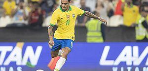 Seleção brasileira marca de falta após 5 anos e volta a vencer