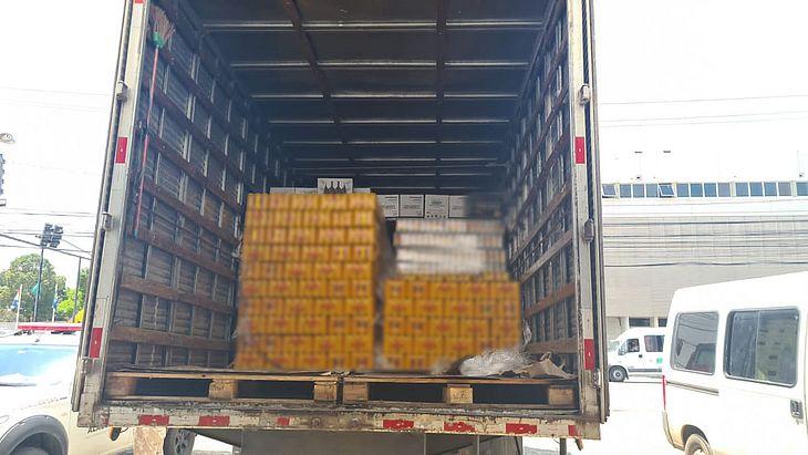 Bebidas vinham de Pernambuco e seriam descarregadas em Maceió