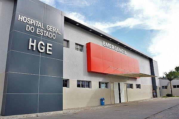 Adolescente foi levado para o Hospital Geral do Estado